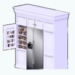 TheVault - Built-In Refrigerator