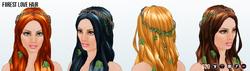 MidsummerNightsDreamSpin - Forest Love Hair