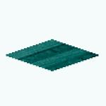 CafeRaffle - Tranquil Teal Flooring