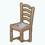 EnglishRoseSpin - Rose Seat Dining Chair light