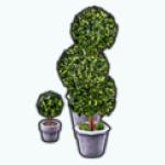 WhiteKitchenDecor - Tabletop Topiary