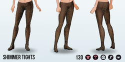 YourYearToSparkle - Shimmer Tights