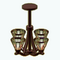 CraftsmanCharmDecor - Arts and Crafts Chandelier