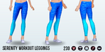 DitchYourResolutionsDay - Serenity Workout Leggings