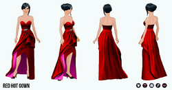 BeMyValentine - Red Hot Gown