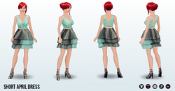 AprilFools - Short April Dress