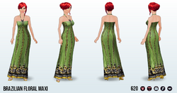 BrazilianDay - Brazilian Floral Maxi