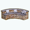 OutdoorKitchenDecor - Stone Bench