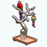 PetShopSpin - Parrot Tree