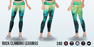 GreatOutdoors - Rock Climbing Leggings