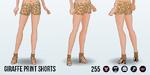 ZooDay - Giraffe Print Shorts