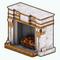 GoldenFeastDecor - Abundant Warmth Fireplace