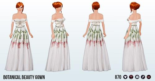 BotanicalBeautySpin - Botanical Beauty Gown