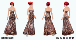 PrivateReserve - Leopard Gown