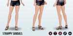 Grand Gala - Strappy Sandals