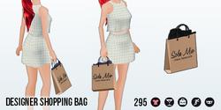 SohoChicSpin - Designer Shopping Bag