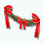 CafeRaffle - Holiday Garland