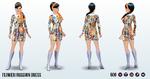 SwinginSixties - Flower Invasion Dress