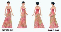 Summer - Pink Floral Maxi