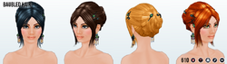 MarchHairSpin - Baubled Hair