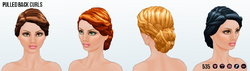 TheVault - Pulled Back Curls