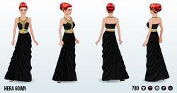 OlympianOpulenceSpin - Hera Gown