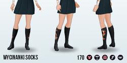 FolkTales - Wycinanki Socks