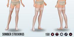 DeathlyBrideSpin - Somber Stockings