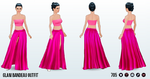 PinkDay - Glam Bandeau Outfit
