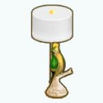 RioRoyaleDecor - Macaw Lamp