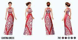 RivieraEscape - Cantina Dress