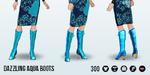 MaskedMagician - Dazzling Aqua Boots