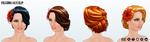 TangoLesson - Passion Hair Clip