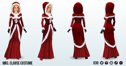 ChristmasCafe - Mrs Clause Costume