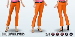 SpringIntoAction - Chic Orange Pants