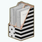 OfficePlaceDecor - Glam File Holders