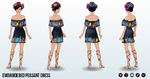 CincoDeMayo - Embroidered Peasant Dress
