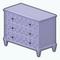 PreppyDecor - Preppy Geo Dresser