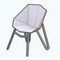 OrigamiHouseDecor - White Nest Chair