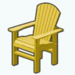 PoolPartySpin - Adirondack Chair