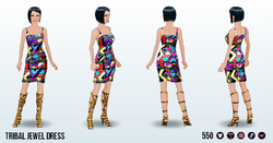 CafeRaffle - Tribal Jewel Dress