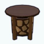 CafeRaffle - Tribal Side Table