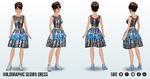 AlienDubstep - Holographic Sequin Dress