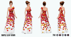 TheVault - Maple Leaf Gown