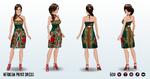 Kwanzaa - African Print Dress 2