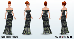 TheVault - Wild Bouquet Gown