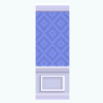 CafeRaffle - Mod Blue Wallpaper