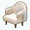 EnchantedWinterDecor - Cozy Evening Chair