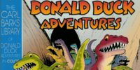 Carl Barks Library of Donald Duck Adventures in Color