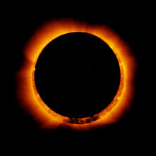 Hinode Observes Annular Solar Eclipse, 4 Jan 2011
